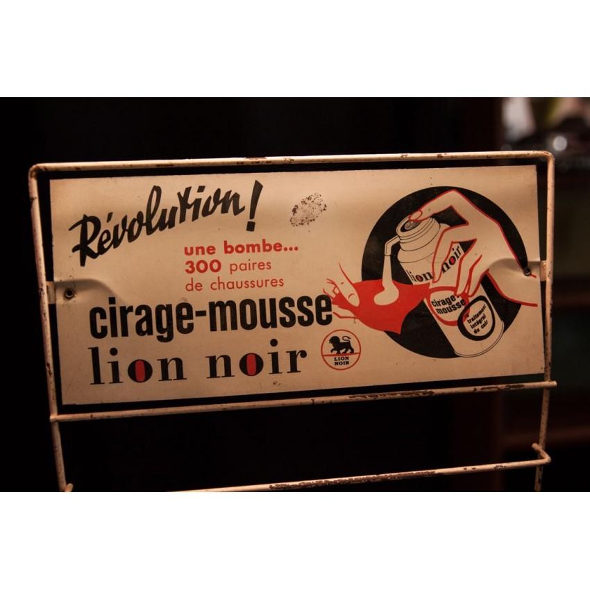Présentoir publicitaire vintage