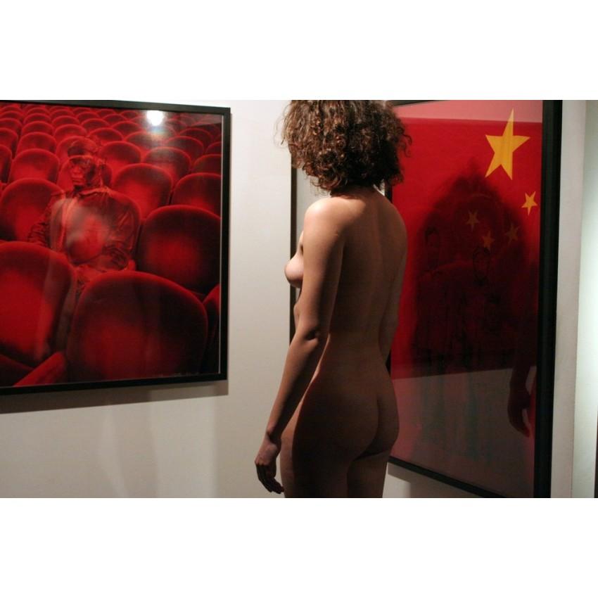 Robert Schwarz - Nu visitant une exposition