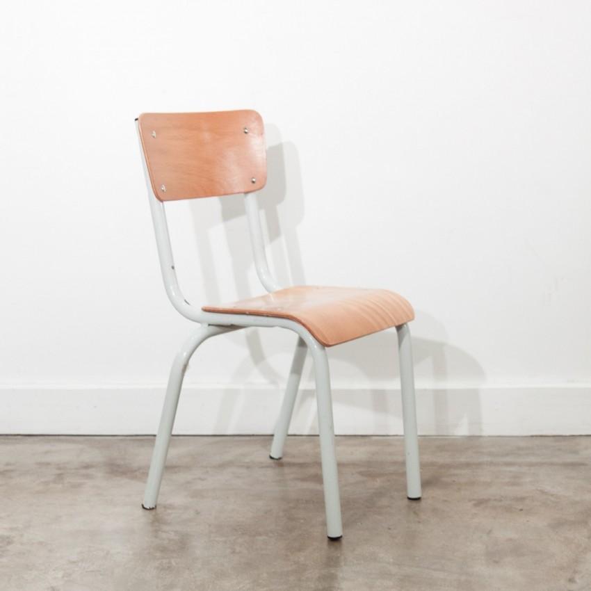 Petite chaise d'école Mullca vintage
