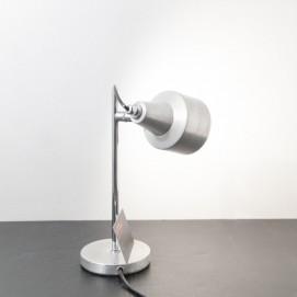 Lampe de bureau vintage en inox