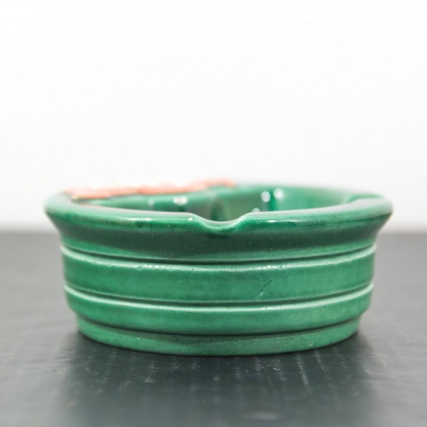 Cendrier en céramique Rechapage vintage