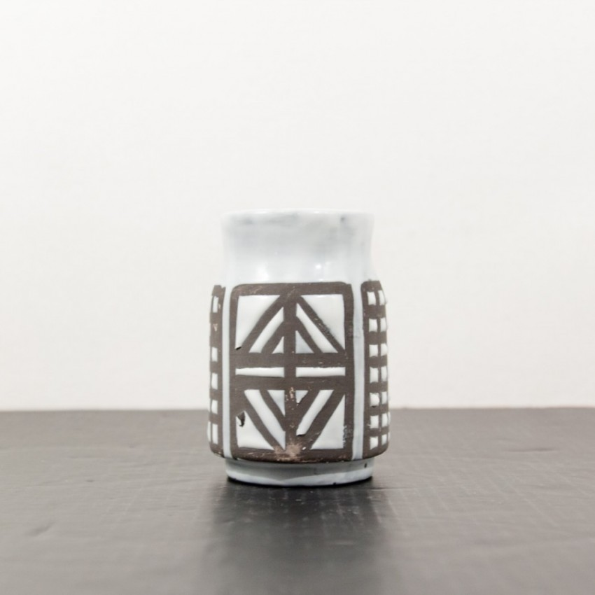 Céramique Capron - Vallauris - Pot à romarin