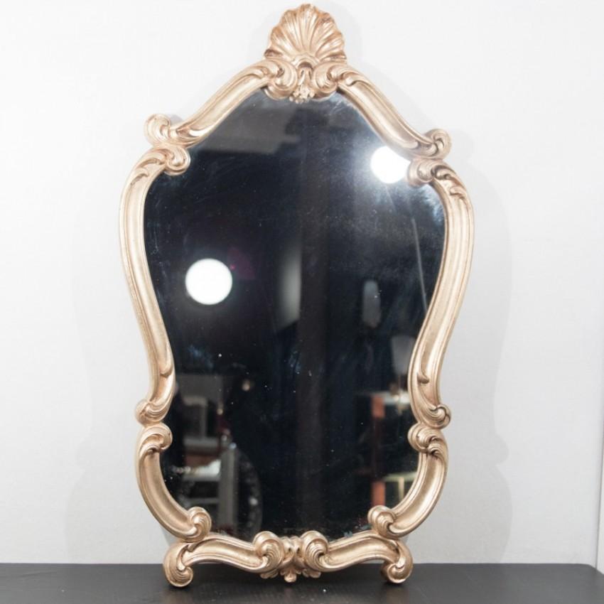 Miroir baroque et dor for Miroir baroque dore
