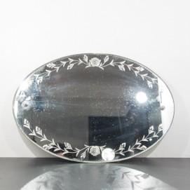 Miroir ovale Art déco