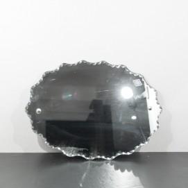Miroir ovale des années 1950