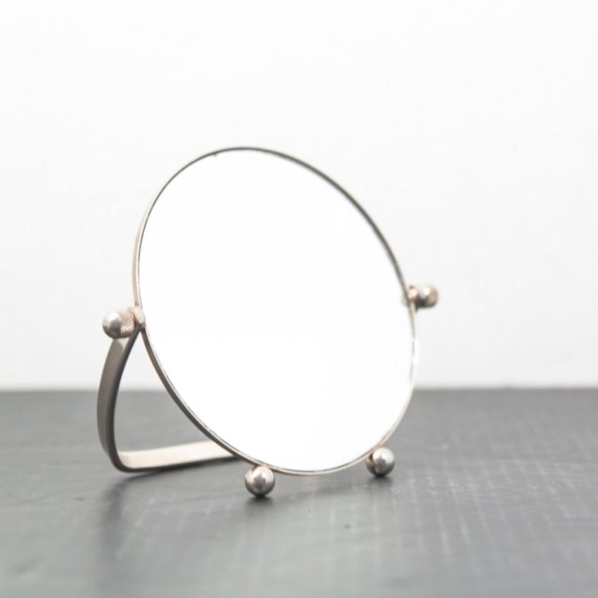 Miroir à poser vintage et rond