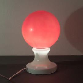Petite lampe en verre sphérique et vintage !