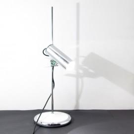 Lampe de bureau chromée Targetti vintage