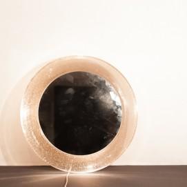 Miroir lumineux en verre soufflé