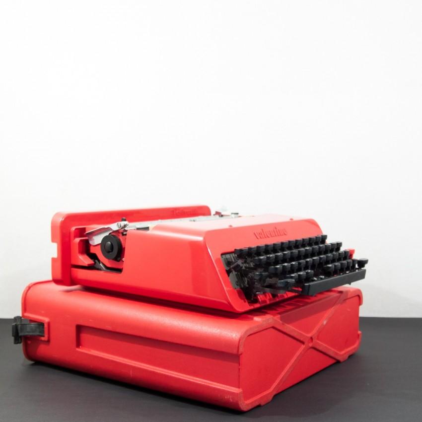 Machine à écrire Valentine - Ettore Sottsass pour Olivetti