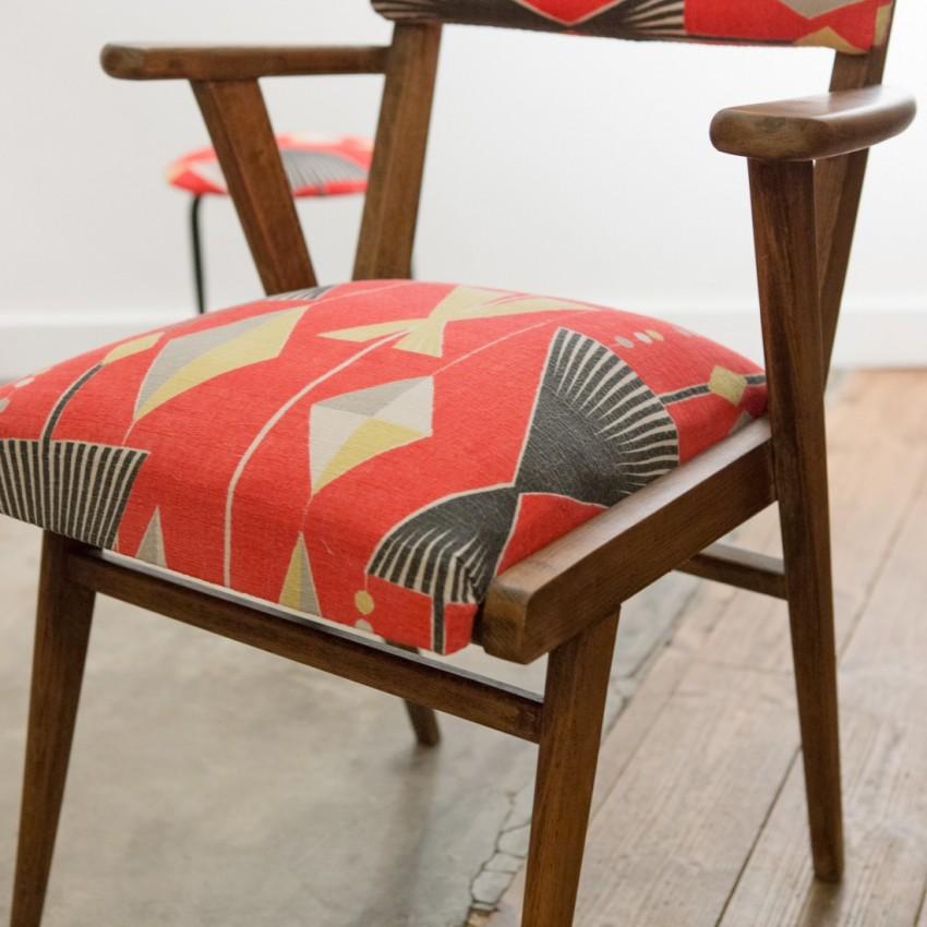paire de fauteuils bridge. Black Bedroom Furniture Sets. Home Design Ideas