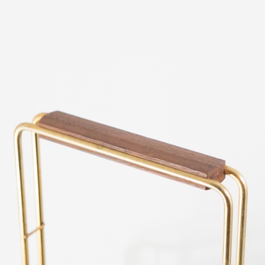 porte revues noir et dor. Black Bedroom Furniture Sets. Home Design Ideas