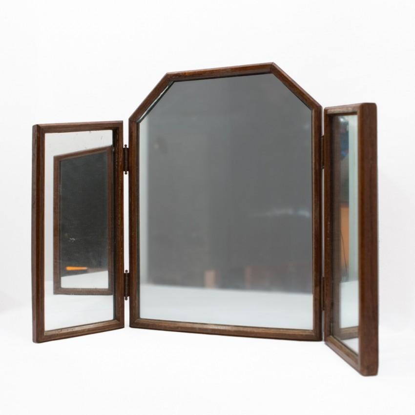 Miroir triptyque art déco