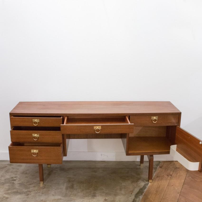 bureau enfilade et coiffeuse g plan. Black Bedroom Furniture Sets. Home Design Ideas