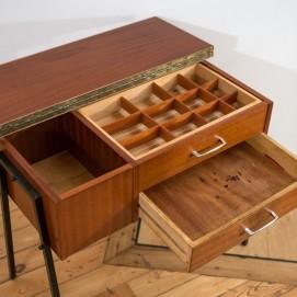 Console et travailleuse en bois