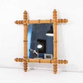 Miroir de barbier - Bambou
