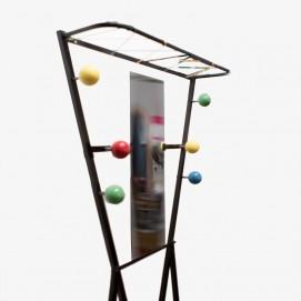 Vestiaire - Boules colorées des années 1950