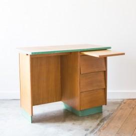 Bureau en bois des années 1950 - E. Tissot