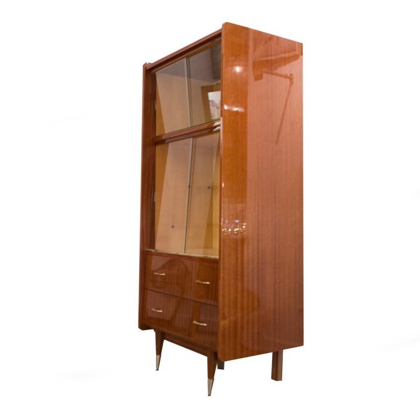 Vaisselier vitrine des années 1960