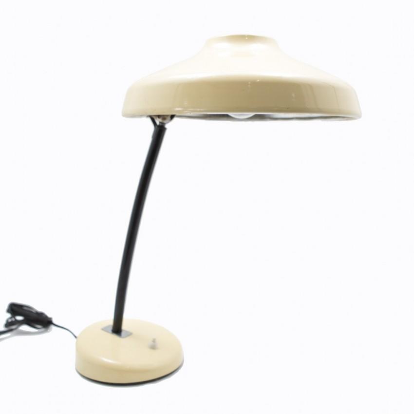 lampe de bureau en m tal laqu. Black Bedroom Furniture Sets. Home Design Ideas