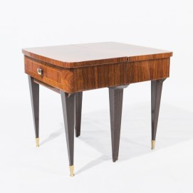 paire de chevets ou tables de nuit des ann es 1950. Black Bedroom Furniture Sets. Home Design Ideas