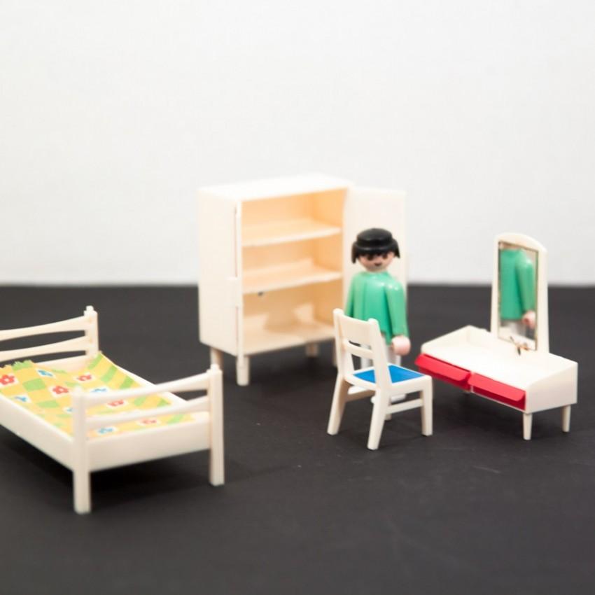 Chambre miniature vintage