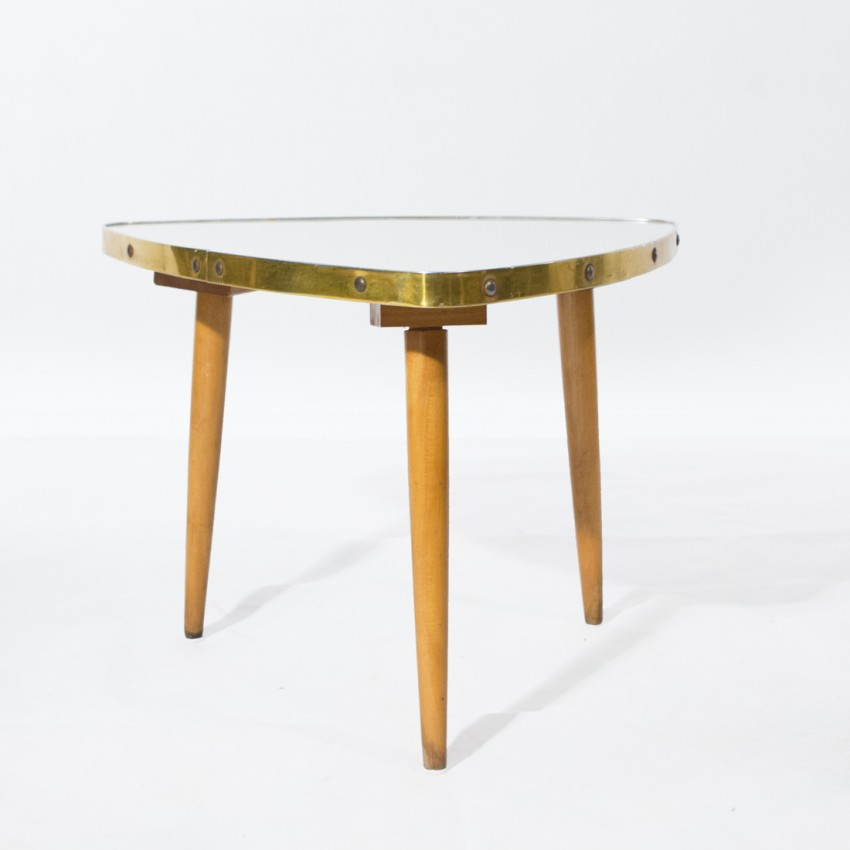 Mini table Formica tripode