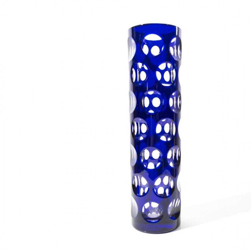 Vase cylindrique Bleikristall Bavaria