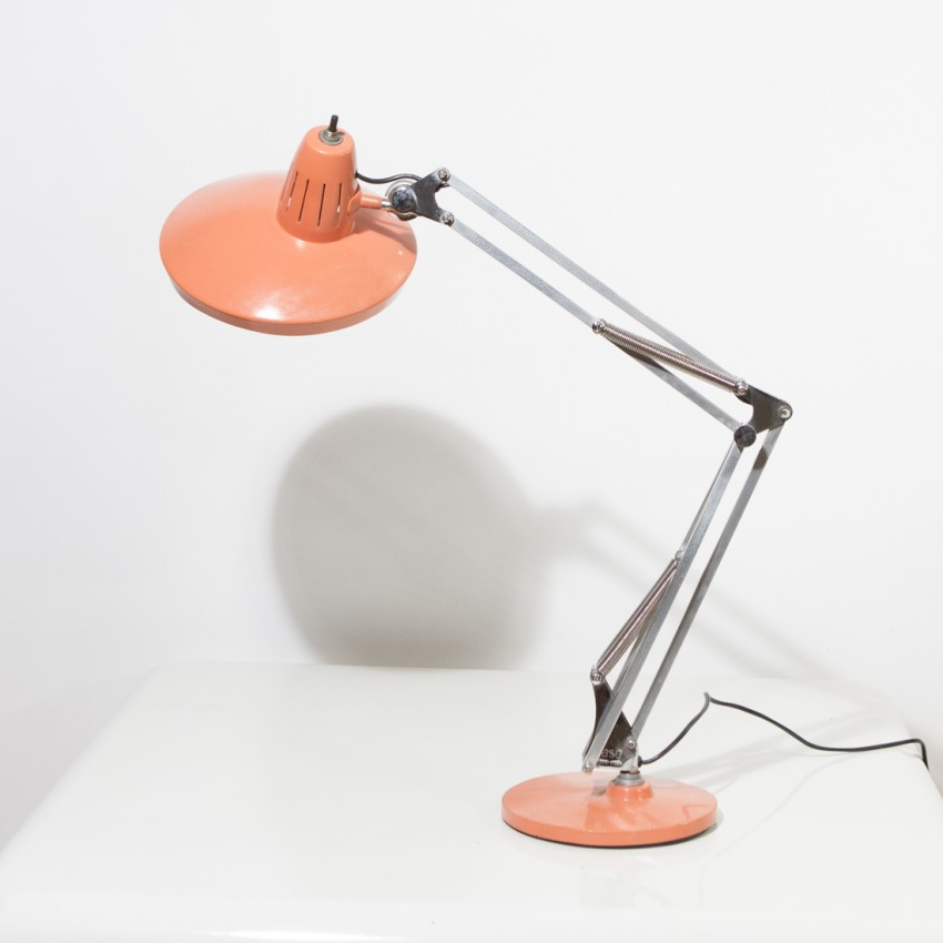 Lampe d'architecte sur socle - Fase