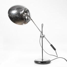 Grande lampe de bureau articulée chromée - Aluminor
