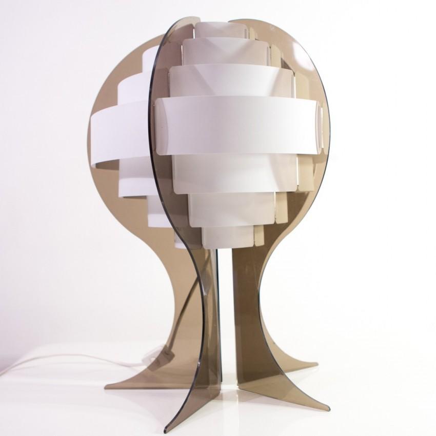 Lampe Strips de Preben Jacobsen et Flemming Brylle
