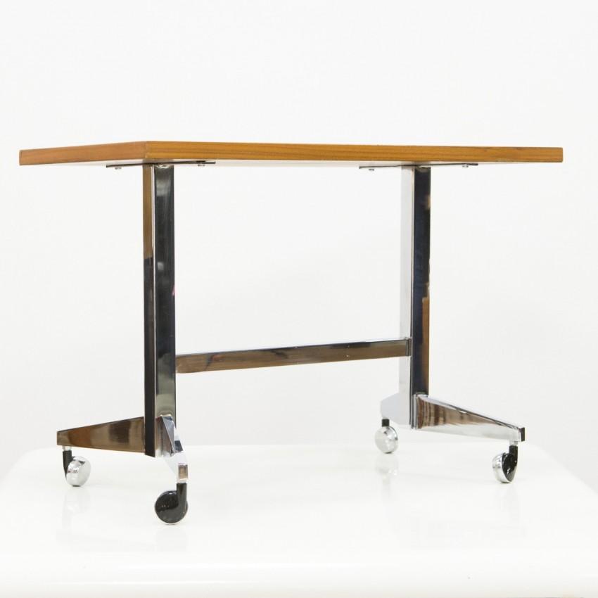table basse roulettes. Black Bedroom Furniture Sets. Home Design Ideas