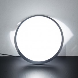Applique/lampe à poser inox/opaline vintage