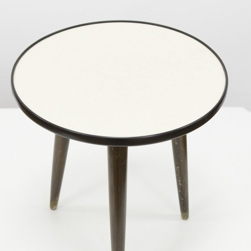 Petite table tripode OPAL Blumenhocker