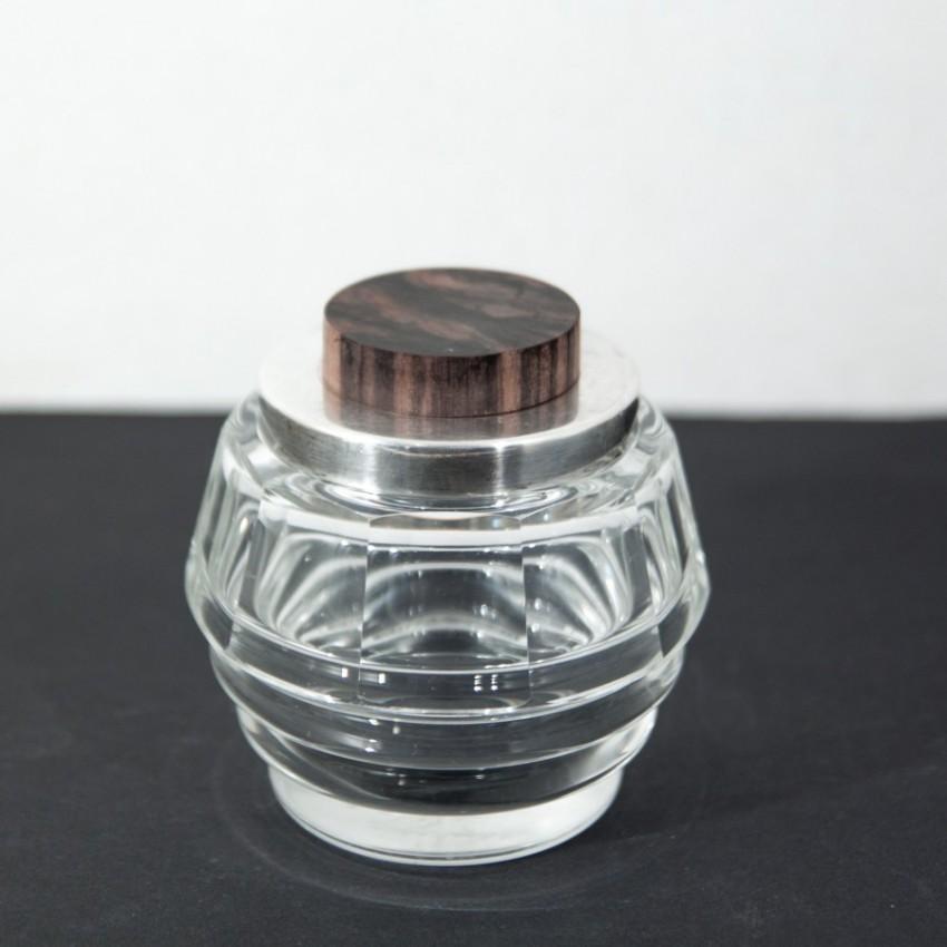 Flacon art déco en cristal