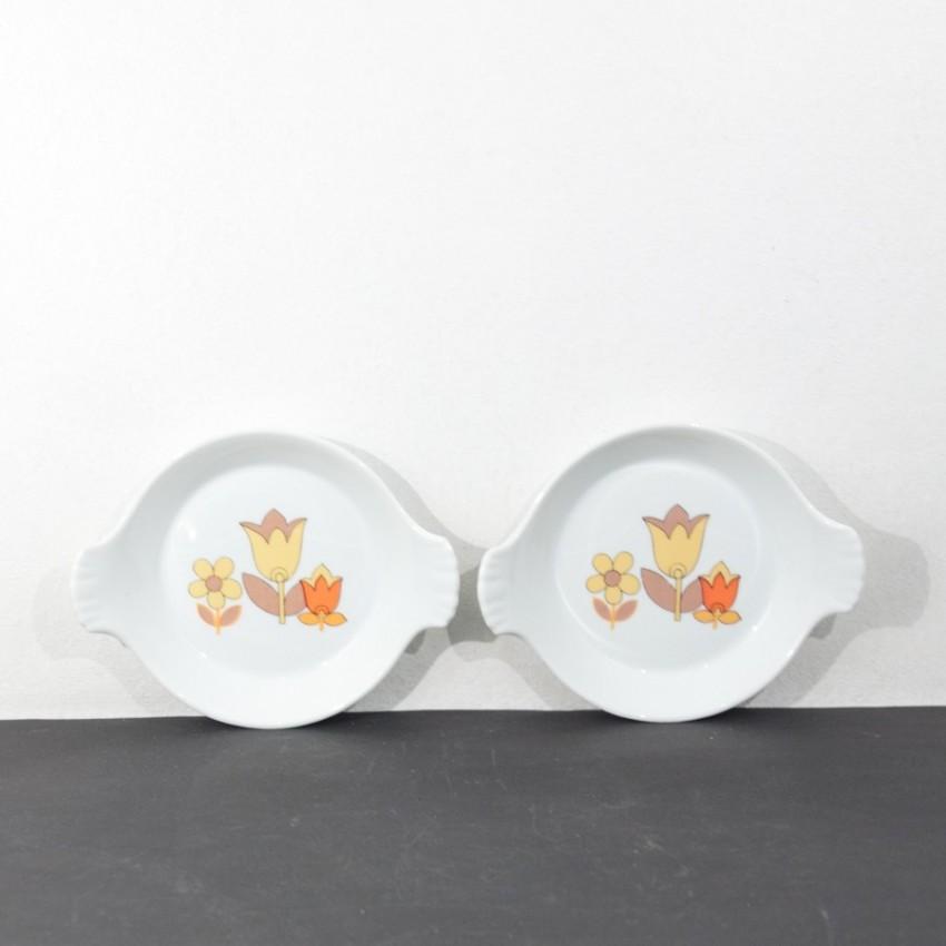 Assiettes des Porcelaines Lourioux