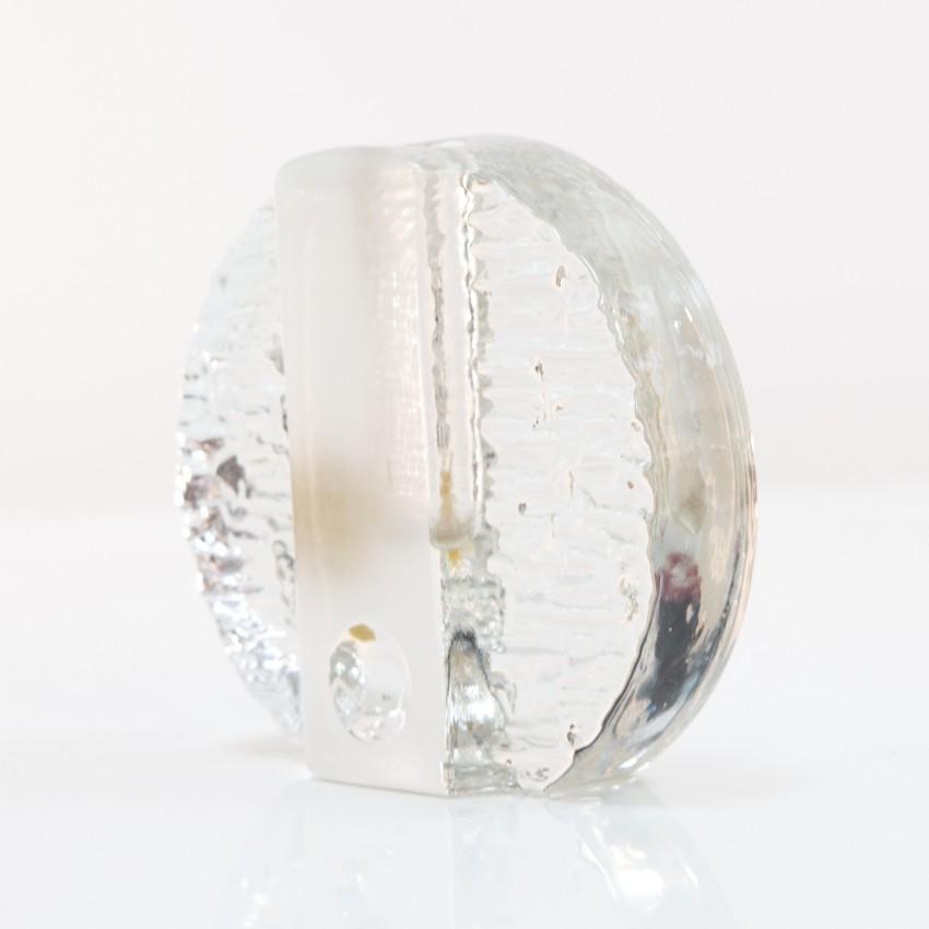 Soliflore en verre d'Heiner Dusterhaus pour la cristallerie Walther Glass.