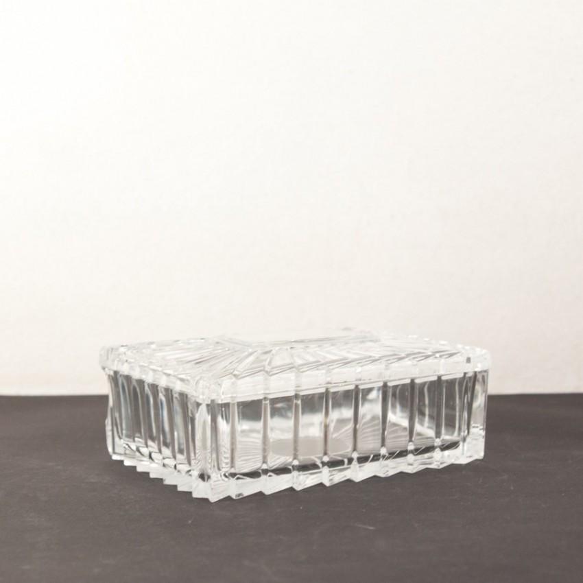 Boite en cristal Art déco