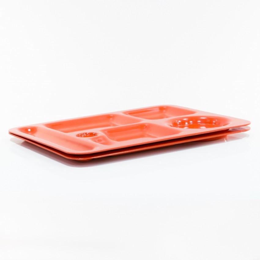 Plateau d'aviation orange