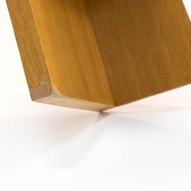 Bout de canapé en bois des années 1950
