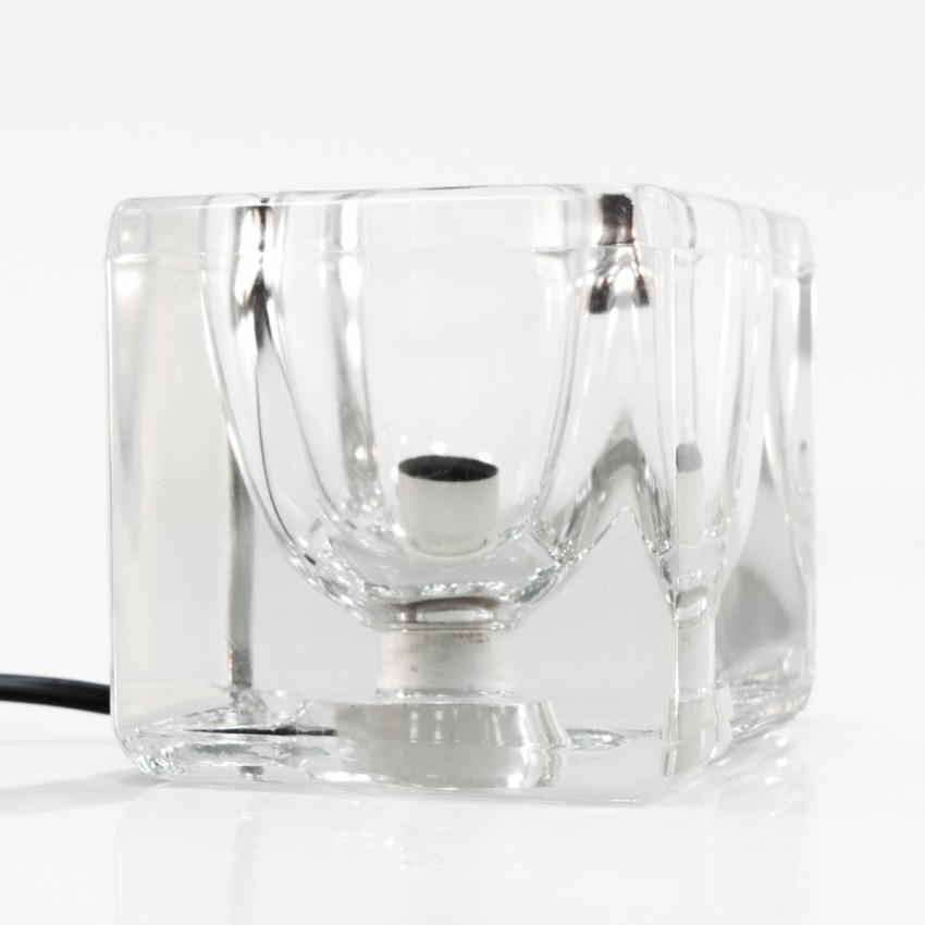 Cube en verre lumineux Peill & Putzler