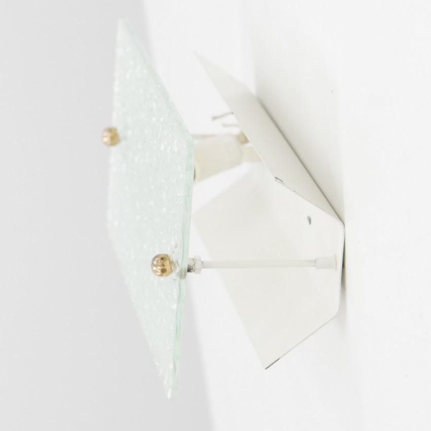 applique ou lampe poser en verre grav. Black Bedroom Furniture Sets. Home Design Ideas
