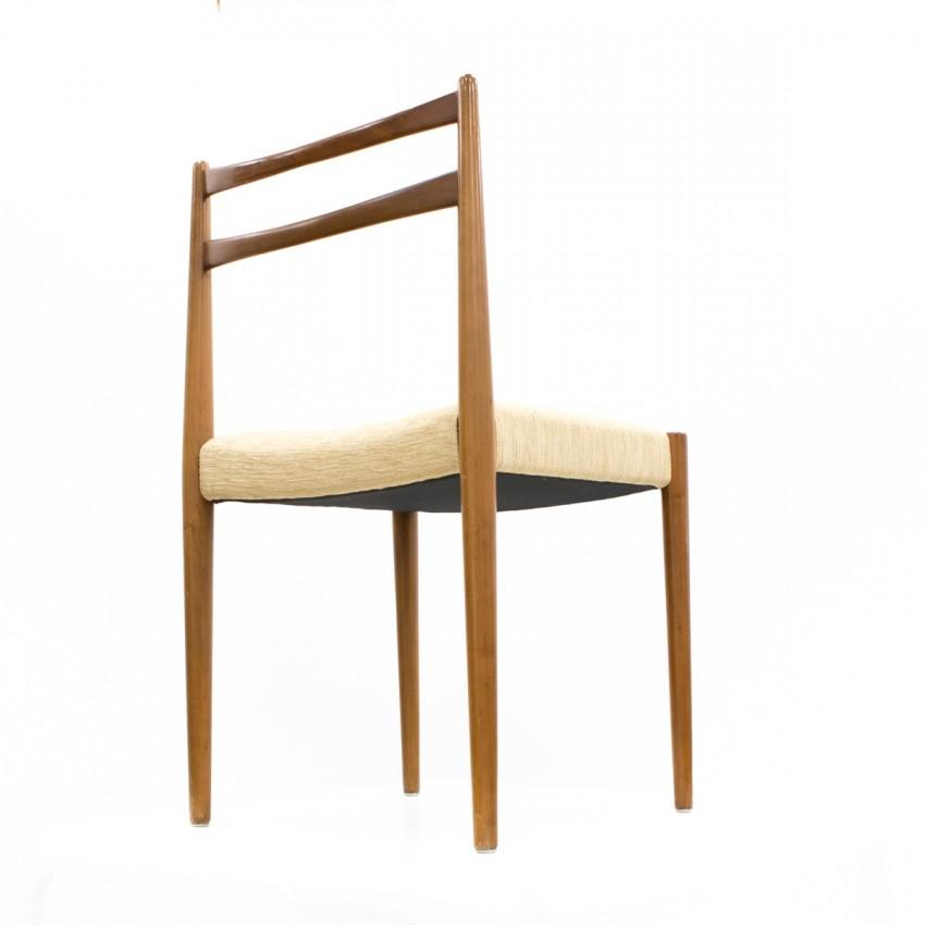 Chaises en bois éditées par Lübke (Luebke) dans les années 1960