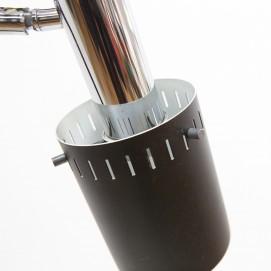 Lampadaire à trois spots cylindriques des années 1960