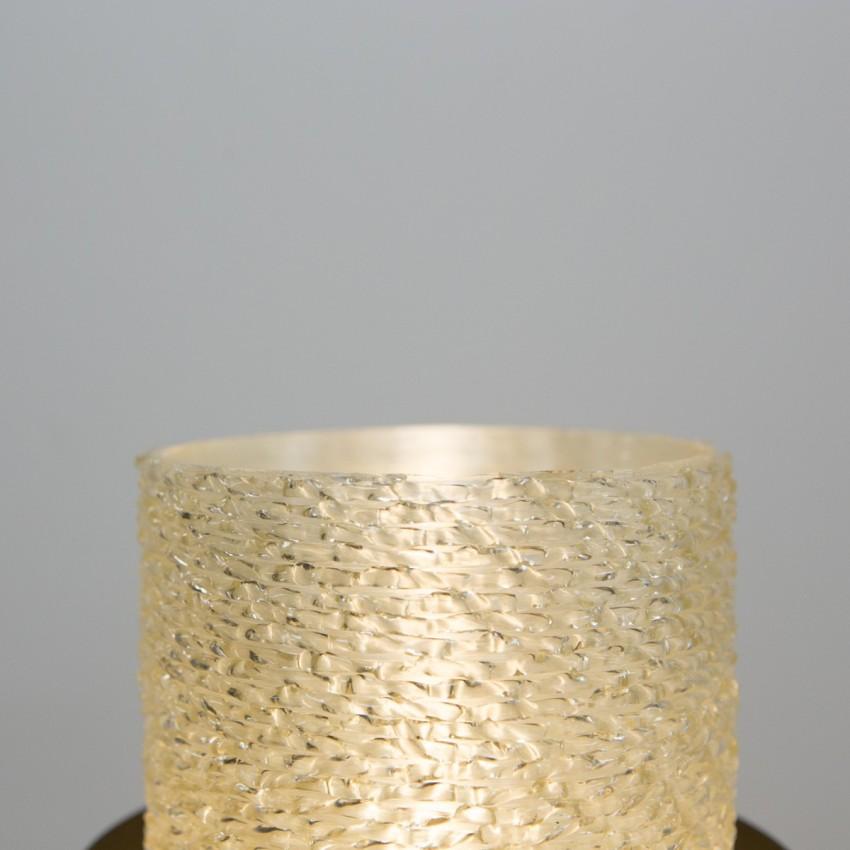 Lampadaire tripode et cylindrique des années 1950