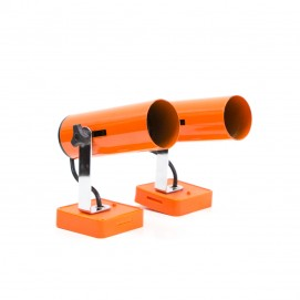Appliques cylindriques Targetti orange
