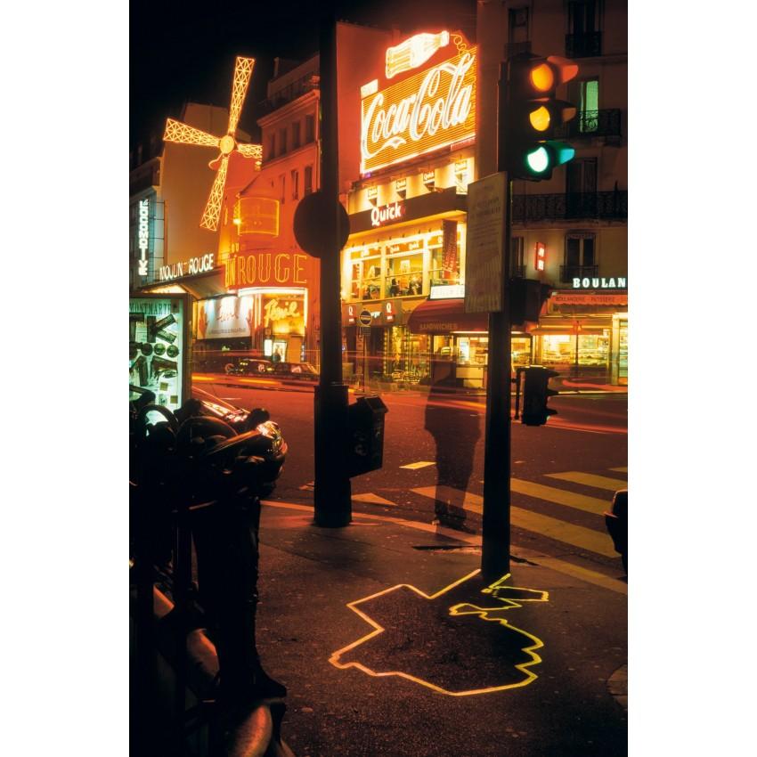 Ombre électrique - Moulin Rouge, ZEVS, 2000.