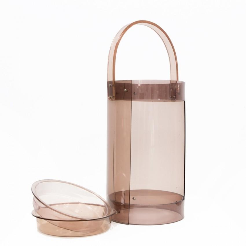Bar cylindrique en Plexiglas