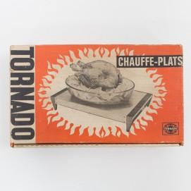 Chauffe-plat Tornado vintage
