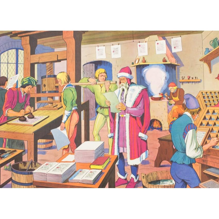 Affiches pédagogiques de la Maison des Instituteurs - Années 1950